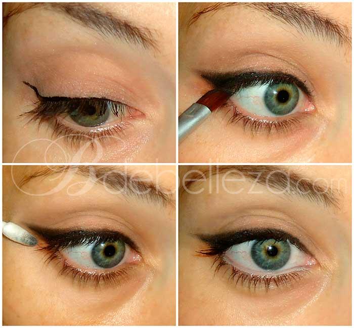 Maquillaje de ojos paso a paso para principiantes - Como maquillarse paso apaso ...