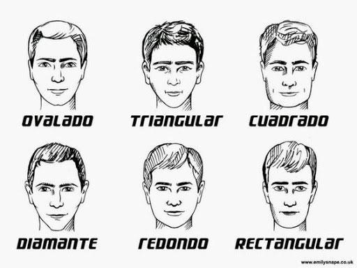 formas de las cejas para hombre