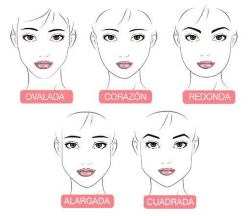 formas de las cejas de mujer