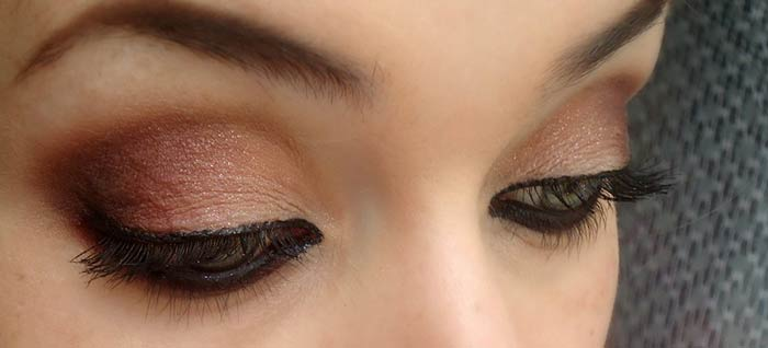 Brown and wine look