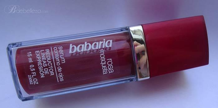 contorno ojos rosa mosqueta babaria