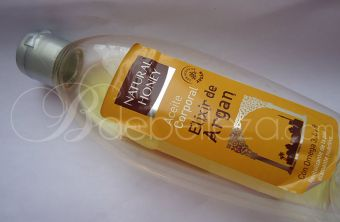 aceite corporal elixir argan natural honey