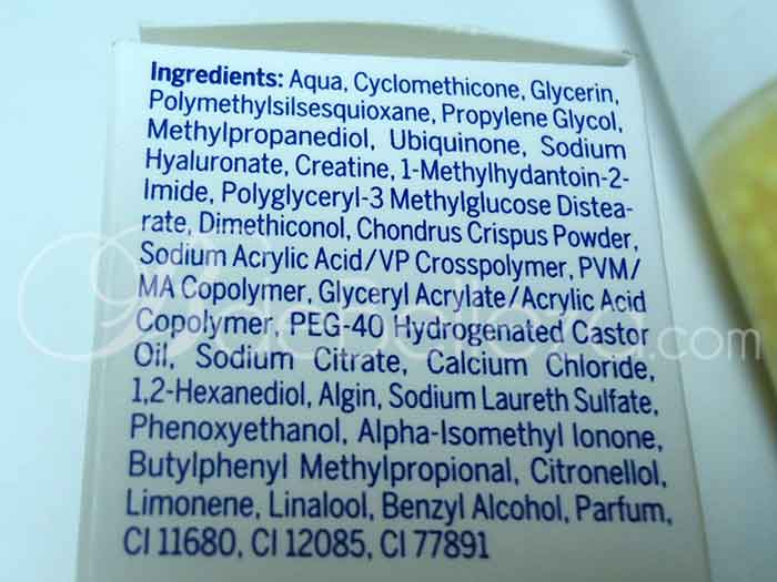 ingredientes serum q10 nivea