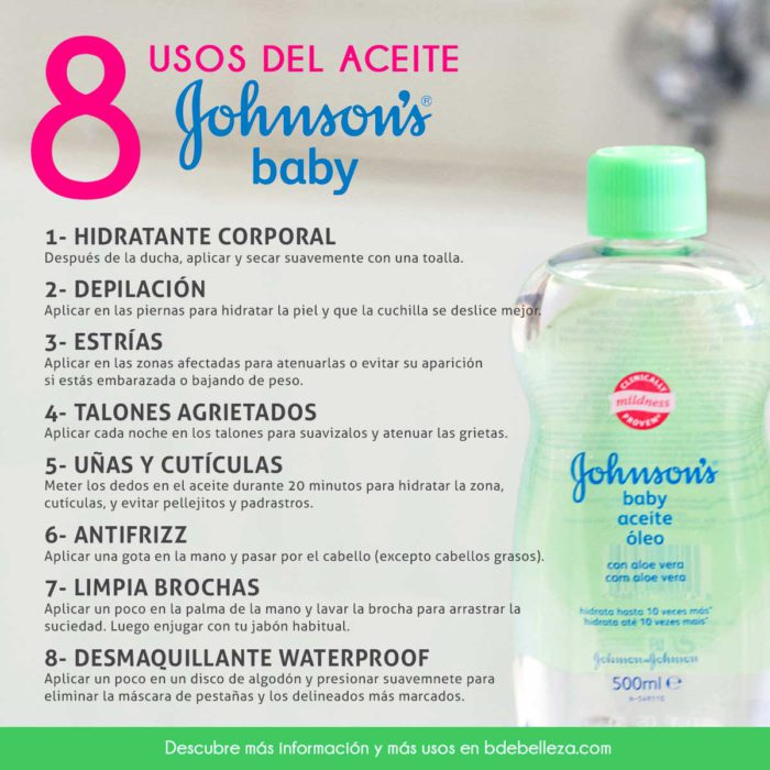 usos aceite johnsons