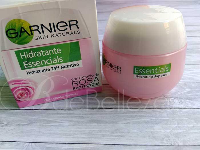 hidratante essencials garnier extracto rosa
