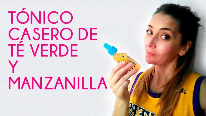 Cómo Hacer un Tónico Casero de Té Verde y Manzanilla
