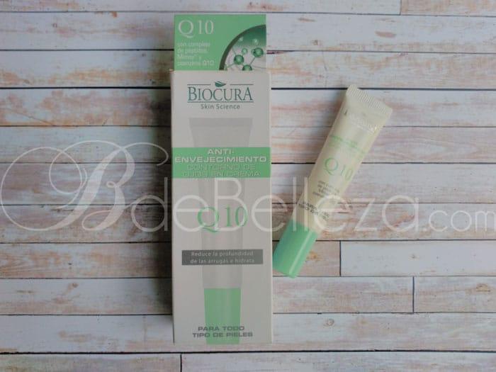 crema antiarrugas q10 biocura aldi
