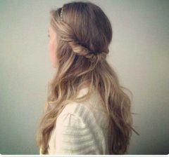 peinados sencillos diadema