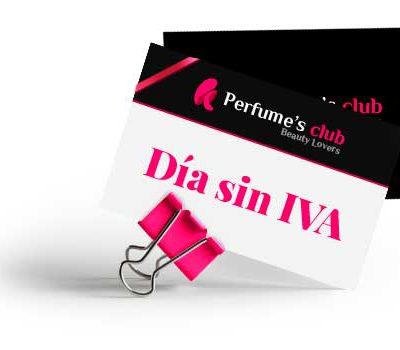 Aprovecha El Día Sin IVA En Perfumes Club