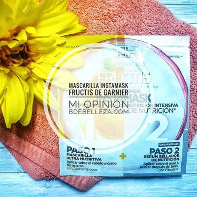 Mascarilla Instamask de Fructis de Garnier, Mi Opinión