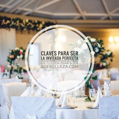 Claves para ser la invitada perfecta en tu look para boda