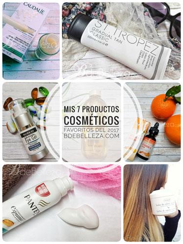 Mis 7 mejores productos cosméticos de 2017