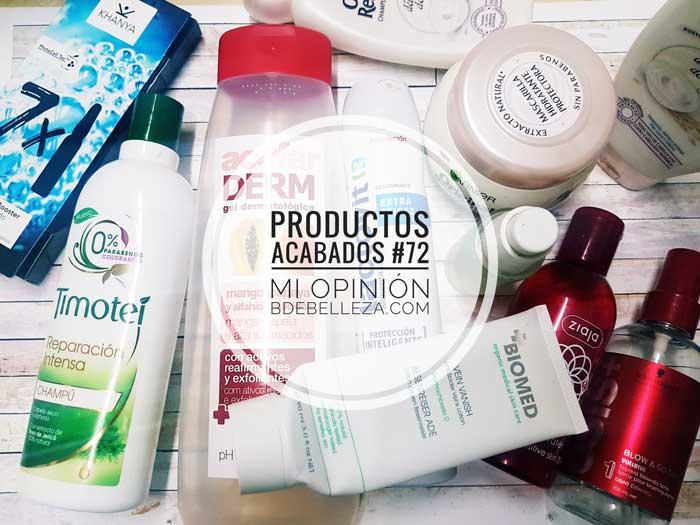 Productos Acabados, Mi Opinión #72