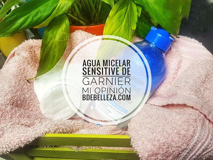 Agua Micelar Sensitive de Garnier, mi opinión