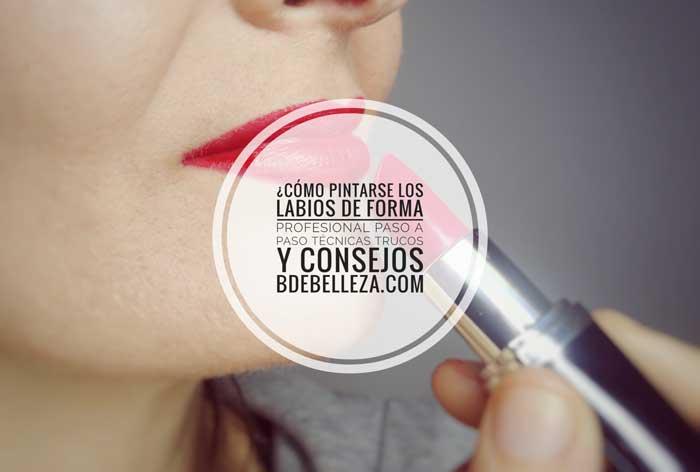 trucos consejos para pintarse los labios