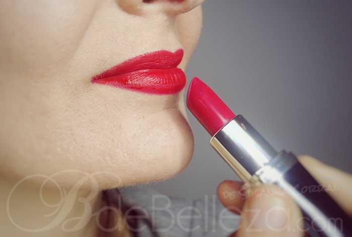 como pintarse los labios