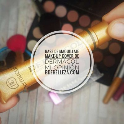 Dermacol Make-Up base de maquillaje, mi opinion