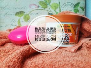 mascarilla hair food garnier