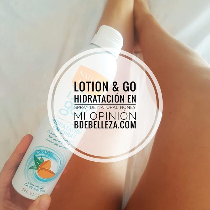 locion and go natural honey