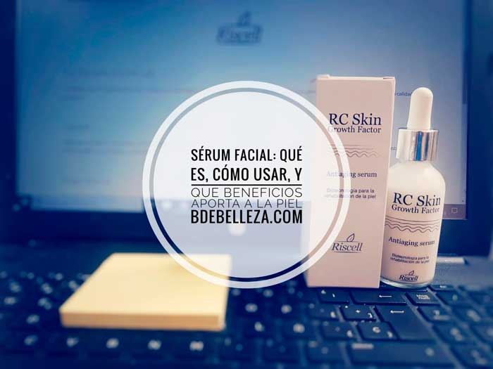 serum facial rc skin riscell