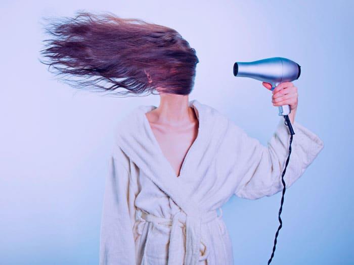 plancha secador caida cabello