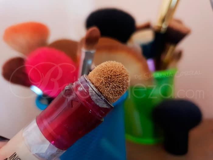 esponja sucia corrector borrador maybelline