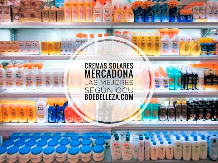 mejores cremas solares mercadona