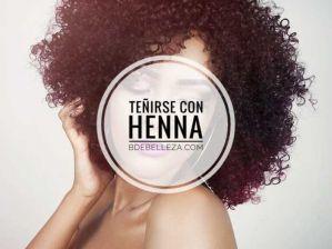 como teñir el cabello con henna