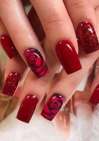 decoracion uñas acrilicas