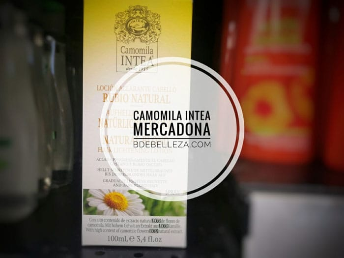 camomila intea mercadona