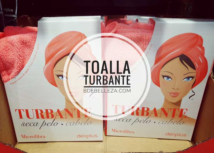 toalla turbante