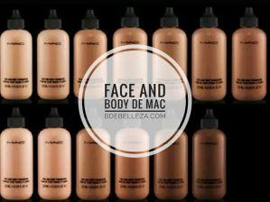 face and body de mac