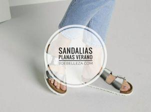 sandalias plana verano
