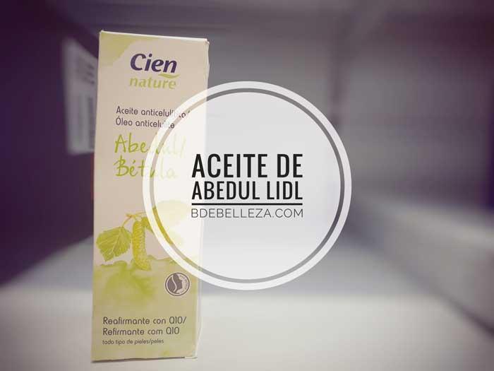 aceite anticelulitico de abedul de lidl