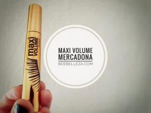 mascara maxi volume de mercadona