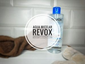 agua limpiadora micelar revox