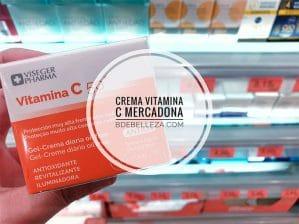 crema vitamina c mercadona