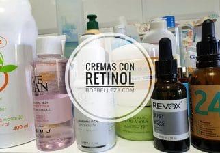 cremas con retinol