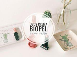 usos biopel crema
