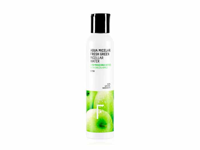 agua micelar fresh green
