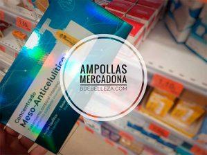 ampollas anticelulíticas mercadona