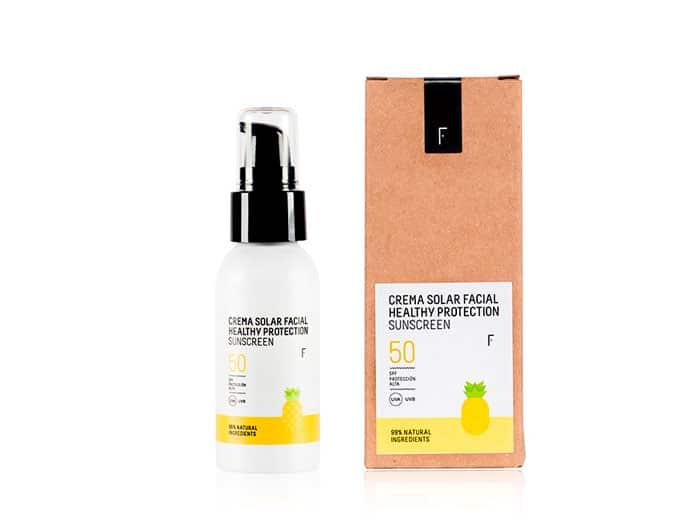 crema solar healthy protection