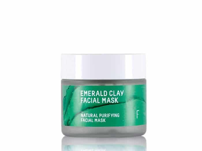 emerald clay facial mask