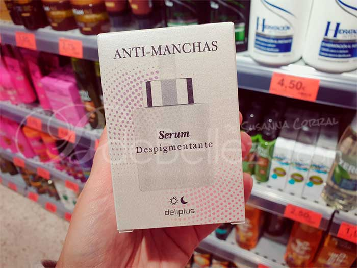 serum anti manchas mercadona