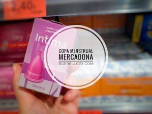 copa menstrual mercadona