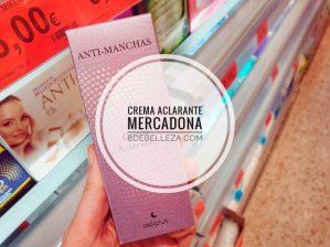crema anti-manchas aclarante mercadona