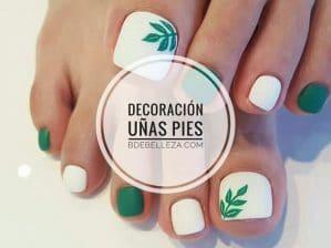 decoración de uñas para pies, ideas originales