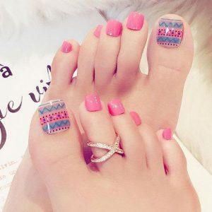 decoración de uñas para pies 2
