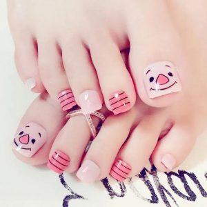 decoración de uñas para pies 3