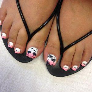decoración de uñas para pies 4